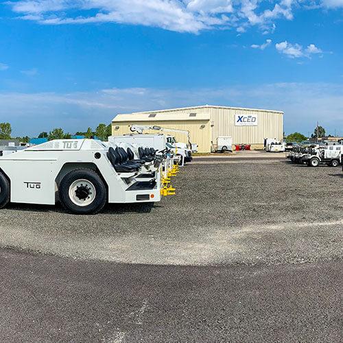 Ground support equipment rental